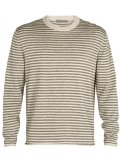 Mens Flaxen LS Crewe Sweater