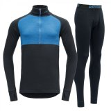 Expedition Man Zip Neck + Long Johns SET